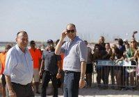 Принц Уильям посетил мечеть аль-Акса