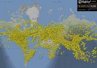 Побит рекорд количества самолетов в небе