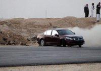 В Саудовской Аравии задержан юноша, «дрифтовавший» под видом женщины