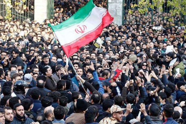 В Иране продолжаются протесты.