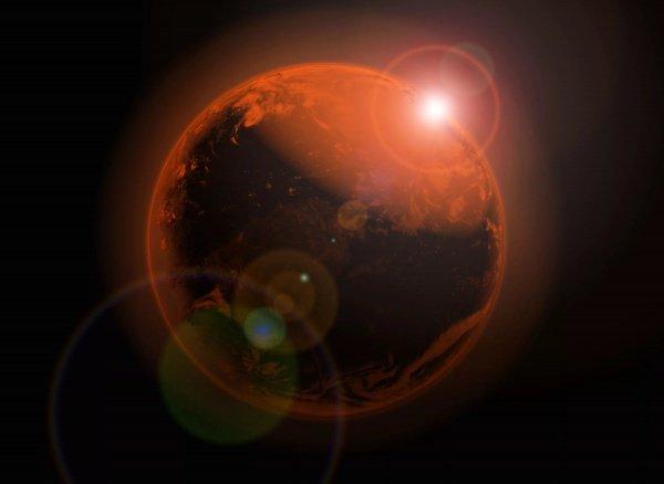 Земляне этого не заметят, поскольку отдаление Земли происходит плавно на протяжении полугода