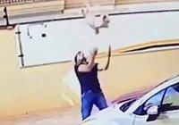 Житель Бразилии поймал собаку, упавшую с 9 этажа