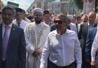 Федеральный Сабантуй с участием президента РТ и муфтия прошел в Чебоксарах