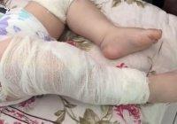 Правоохранители Таджикистана установили, кто втыкал иголки в 9-месячного малыша