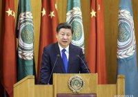 Лидер Китая призвал арабские страны к совместной борьбе с экстремизмом
