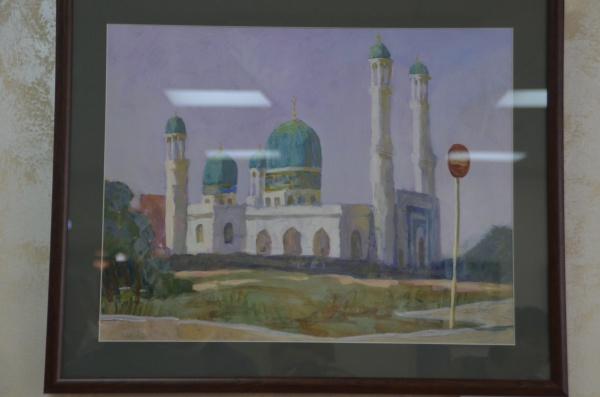 Жизнь казахского народа в удивительных картинах Альберта Шинибаева