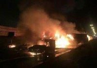Десятки человек погибли в Иране в результате столкновения бензовоза и автобуса