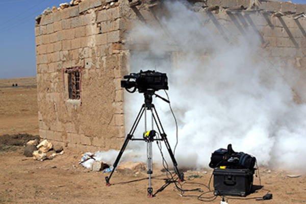 В Сирии заблокированы сотни журналистов.