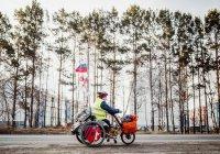 Мужчина проехал через всю Россию на инвалидной коляске