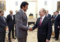 Путин передаст эмиру Катара право проведения ЧМ-2022