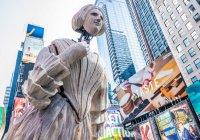 Американский художник затопил Нью-Йорк