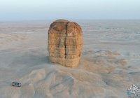 Гора в Саудовской Аравии, которая сохранилась после Всемирного потопа
