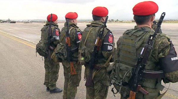 ИзСирии вРФ вернулись 100 военных полицейских