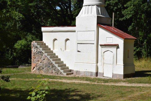 Минарет, построенный русским генералом в знак любви