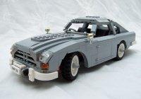 Машину Джеймса Бонда собрали из LEGO (ВИДЕО)