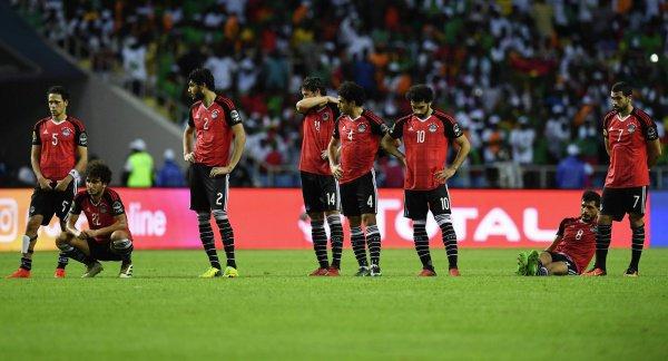 Сборная Египта заняла последнее место на ЧМ-2018.