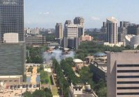 Мощный взрыв прогремел у посольства США в Пекине