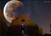 """Потрясающие фото """"кровавой Луны"""" от иранского фотографа"""