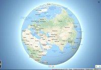Правильная Земля появилась в Google