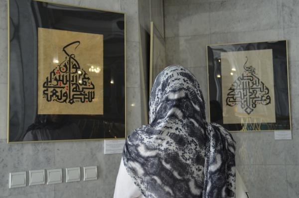 Признанные мастера каллиграфии из Пакистана и Саудовской Аравии представили свои работы в Казани