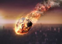 Метеорит рухнул на базу ВВС США