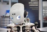Изобретатель из Японии показал робота-мальчика (ВИДЕО)