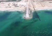 Израиль возводит подводную стену на границе с сектором Газа