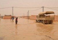 В Сахаре произошло наводнение