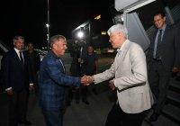 Минниханов встретил прибывшего в Казань акима Алматинской области Казахстана