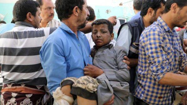 В Йемене авиаудар саудовской коалиции по автобусу убил 29 детей