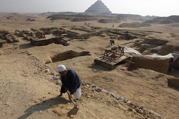 Необычную находку в Каире сделали итальянские археологи.