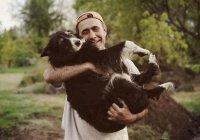 Домашние животные делают людей счастливее