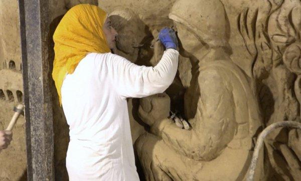 Сирийцы превратили тоннели ИГИЛ в произведения искусства (Видео)