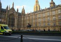 Опубликовано видео теракта возле парламента Лондона