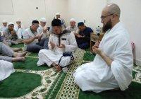 Камиль хазрат Самигуллин встретился с паломниками из Татарстана в Мекке (ФОТО)