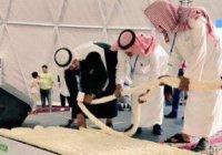 Самое длинное ожерелье в мире весом 120 кг создали в Саудовской Аравии (ФОТО)