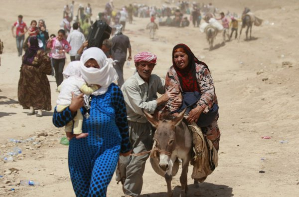 В провинции в довоенное время проживало примерно 6 млн. человек, в том числе 2 млн. человек в самом Алеппо