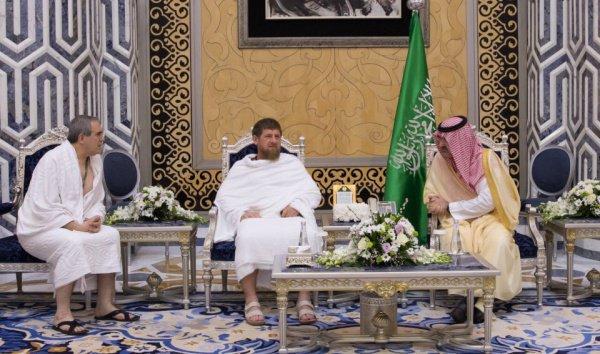 В программе пребывания главы Чечни в королевстве — встречи с королем и наследным принцем Саудовской Аравии