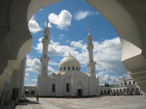 Белая мечеть, город Булгар, Татарстан