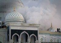 Ребенок и женщина стали жертвами пожара в мечети в Киргизии