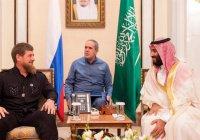 Принц Саудовской Аравии пригласил Рамзана Кадырова во дворец (ВИДЕО)