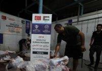 Турция накормит 15 тыс. семей в Секторе Газа жертвенным мясом