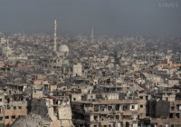 Художники рисуют картины среди руин в Сирии (ВИДЕО)