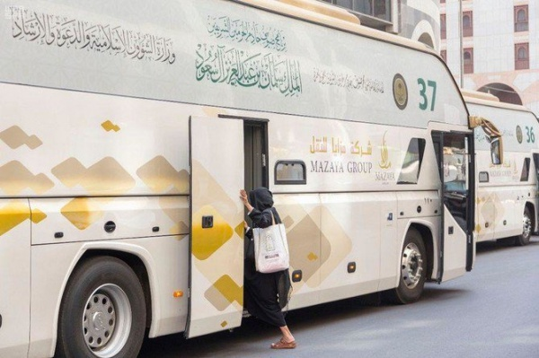 В нынешнем году король Салман пригласил в хадж за свой счет 1000 паломников из семей погибших военнослужащих и полицейских Египта