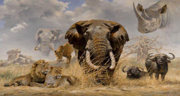 Сотворение животных Всевышним