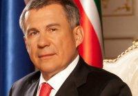 Президент РТ Рустам Минниханов поздравил татарстанцев с Днем республики и города