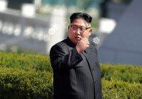 Ким Чен Ын направил послание Махмуду Аббасу