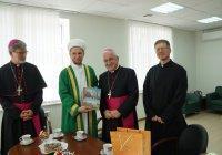 ДУМ РТ посетил представитель Ватикана в России