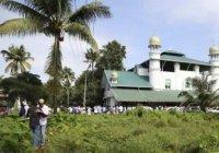 Священник прочел проповедь с минбара мечети