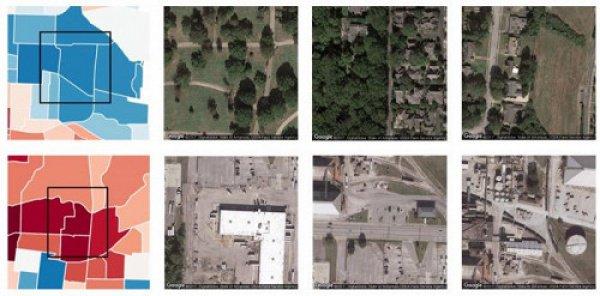 При этом источником данных стали фото 1695 микрорайонов Мемфиса, Лос-Анджелеса, Сиэтла и Сан-Антонио из сервиса Google Maps — в общей сложности около 150 тыс. снимков